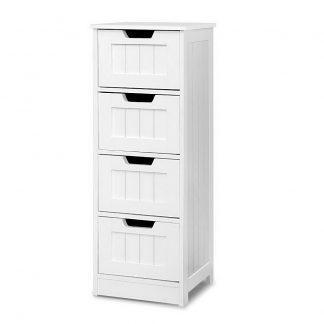 Storage Cabinet Chest of Drawers Dresser Bedside Table Bathroom Stand Furniture