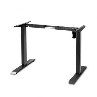 Motorised Adjustable Desk Frame Black