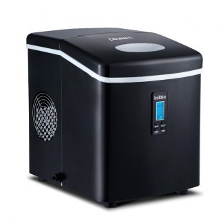 DEVANTI 3.2L Portable Ice Cube Maker Machine Benchtop Counter Black