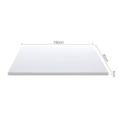 Giselle Bedding Single Size Dual Layer Cool Gel Memory Foam Topper