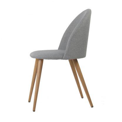 2 X Artiss Dining Chairs Light Grey