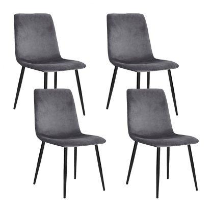 Set of 4 Artiss Modern Dining Chairs