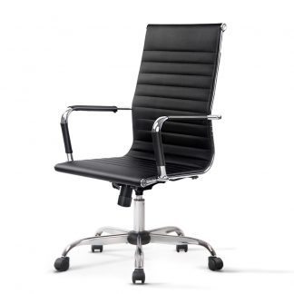Artiss Eamon Gaming Office Chair Computer Desk Chairs Home Work Study Black High Back