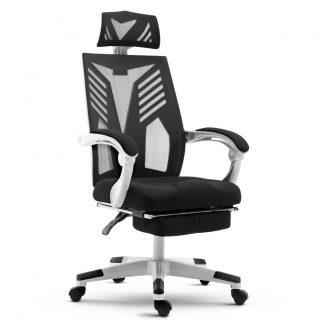 Artiss Gaming Office Chair Computer Desk Chair Home Work Recliner White