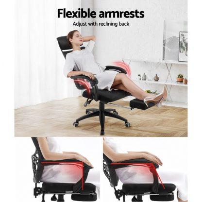 Artiss Gaming Office Chair Computer Desk Chair Home Work Study Black