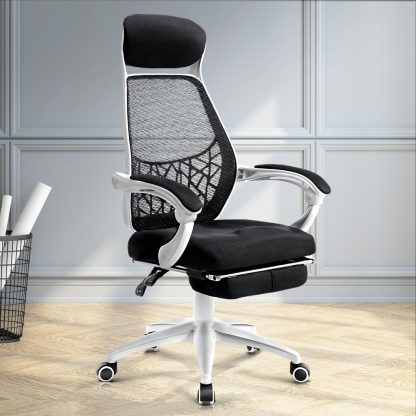 Artiss Gaming Office Chair Computer Desk Chair Home Work Study White