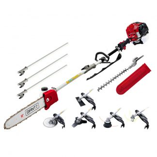 """""""Giantz 65cc Petrol Pole Chainsaw Pruners 2 Stroke Long Chainsaws Hedge trimmer Brush Cutter Chain Saw Whipper Snipper Multi Tool"""