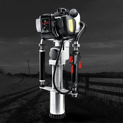 Giantz 4-Stroke Petrol Post Driver Rammer Power Pile Hole Drive Farm Fence