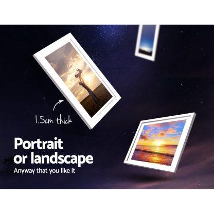 26 PCS Picture Photo Frame Wall Set Home Decor Present Gift White