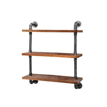 Artiss Display Shelves Wall Brackets Bookshelf Industrial DIY Pipe Shelf Rustic
