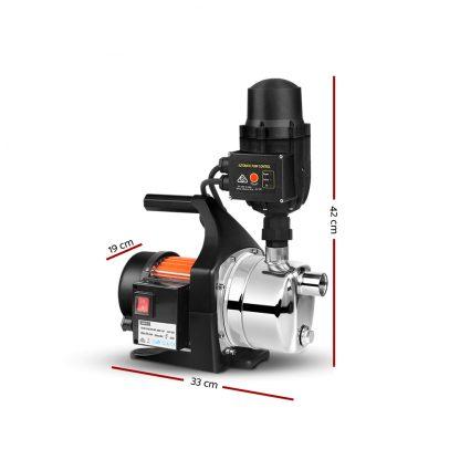 Giantz 800W High Pressure Garden Water Pump with Auto Controller