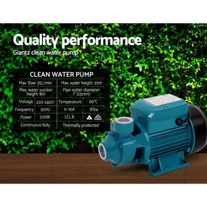 Giantz Electric Clean Water Pump