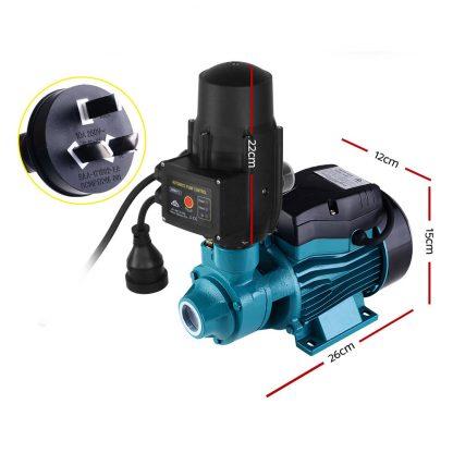 Auto Peripheral Water Pump Electric Clean Garden Farm Rain Tank Irrigation QB60