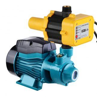 Auto Peripheral Water Pump Clean Electric Garden Farm Rain Tank Irrigation QB60 Yellow