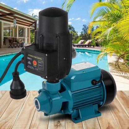 Giantz Auto Peripheral Pump Clean Water Garden Farm Rain Tank Irrigation QB60