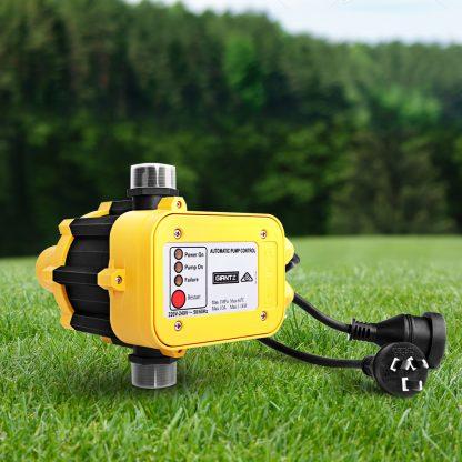Giantz Automatic Electronic Water Pump Controller - Yellow