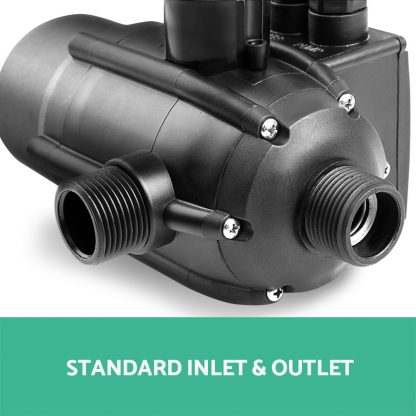 Giantz Adjustable Automatic Electronic Water Pump Controller - Black