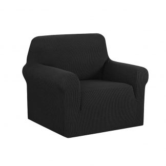Artiss High Stretch Sofa Cover Couch Protector Slipcovers 1 Seater Black