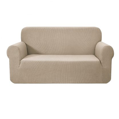 Artiss High Stretch Sofa Cover Couch Protector Slipcovers 2 Seater Sand