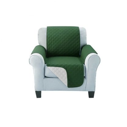 Artiss Sofa Cover Quilted Couch Covers Lounge Protector Slipcovers 1 Seater Green