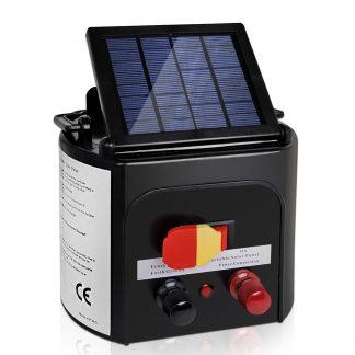 Giantz 3km Solar Electric Fence Charger Energiser