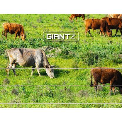 Giantz 5km Solar Electric Fence Charger Energiser