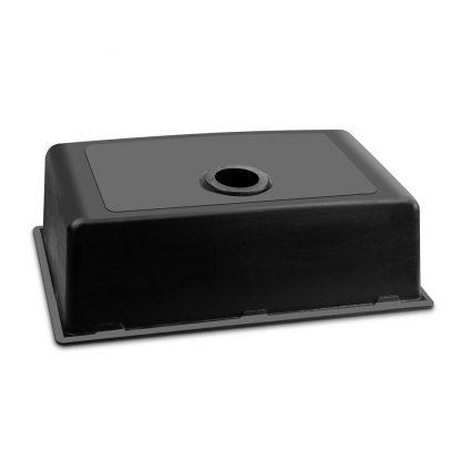 Cefito 790 x 450mm Granite Stone Sink - Black