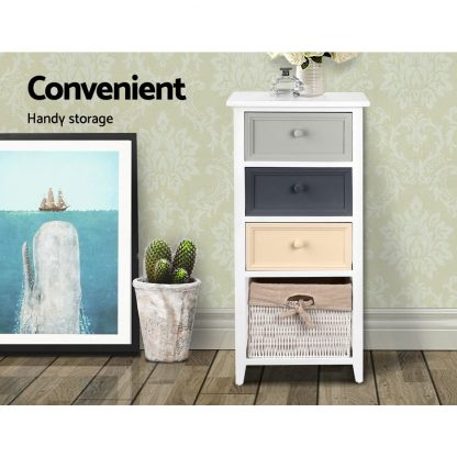 Artiss Bedroom Storage Cabinet - White