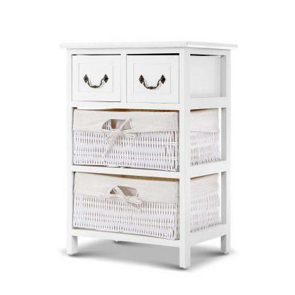 Artiss Storage Cabinet Dresser Chest of Drawers Bedside Table Bathroom Lamp Side