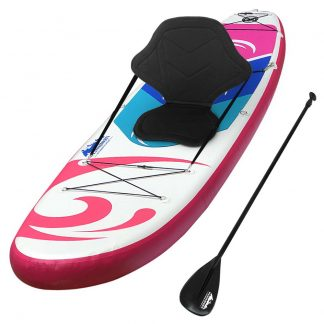 Weisshorn Stand Up Paddle Boards 11' Inflatable SUP Surfboard Paddleboard Kayak Pink