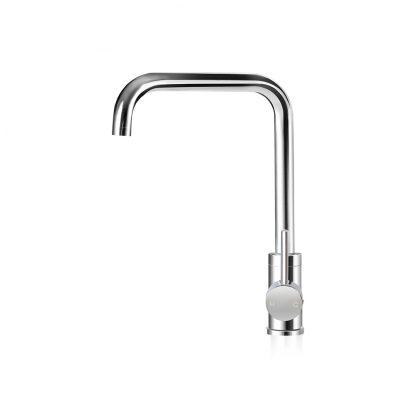 Cefito Mixer Kitchen Faucet Tap Swivel Spout WELS Silver