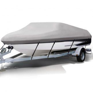 14 - 16 foot Waterproof Boat Cover - Grey