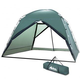 Weisshorn Gazebo Marquee Camping Tent 2.95X2.95M Folding Sun Canopy Shade