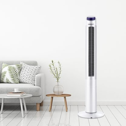 Devanti 122cm 48'' Tower Fan Oscillating Bladeless Fans w/Remote Timer