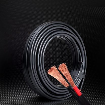 Twin Core Wire Electrical Automotive Cable 2 Sheath 450V 10M 8B&S
