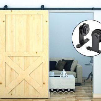 2.4m Sliding Barn Door Hardware
