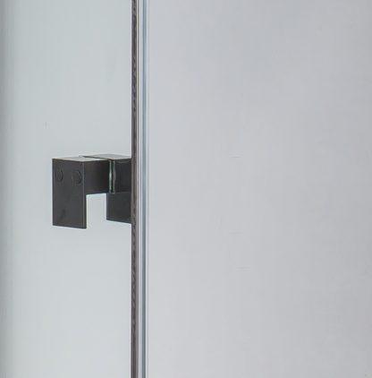 Semi Frameless Shower Screen (74~82)x 195cm & (77~80)x 195cm Side AS/NZS Glass