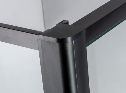 Semi Frameless Shower Screen (74~82)x 195cm & (89~92)x 195cm Side AS/NZS Glass