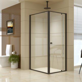 Semi Frameless Shower Screen (74~82)x 195cm & (98~101)x 195cm Side AS/NZS Glass