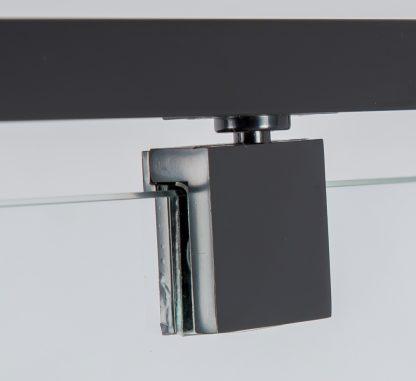 Semi Frameless Shower Screen (98~106)x 195cm & (77~80)x 195cm Side AS/NZS Glass