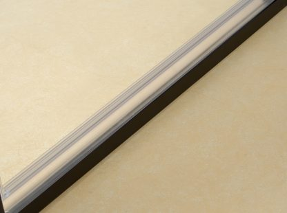 Semi Frameless Shower Screen (98~106)x 195cm & (89~92)x 195cm Side AS/NZS Glass