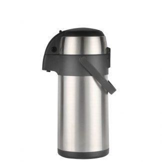 Air Pot for Tea Coffee 5L Pump Action Insulated Airpot Flask Drink Dispenser