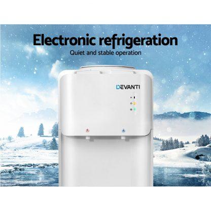 Devanti Water Cooler Dispenser Bottle Filter Purifier Hot Cold Taps Free Standing Office