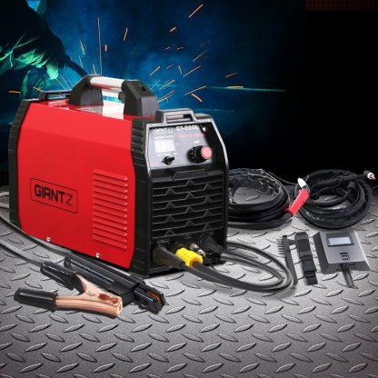Giantz 220Amp Inverter Welder Plasma Cutter TIG iGBT DC Welding Machine Portable