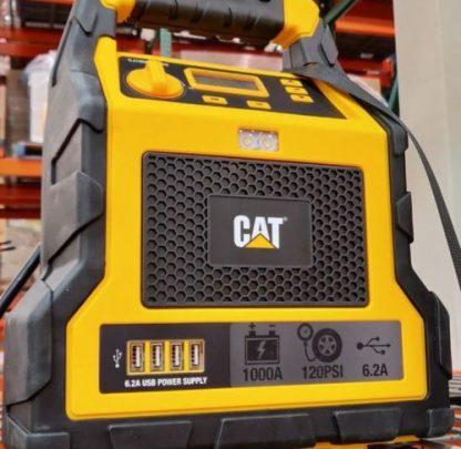 CATÃ' Professional Power Station & 1000 Peak Amp Jump Starter & Air Compressor