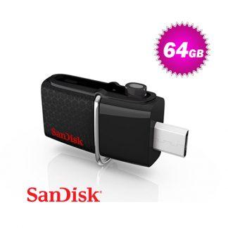 Sandisk SDDD2-064G OTG-64G Ultra Dual USB 3.0 Pen Drive