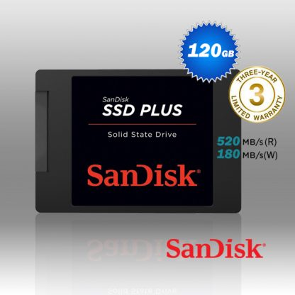 SanDisk SSD Plus 120GB 2.5 inch SATA III SSD SDSSDA-120G