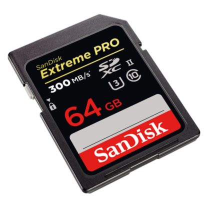 Sandisk 64GB Extreme Pro 300/260RW UHS-II/ U3 SDSDXPK-064G