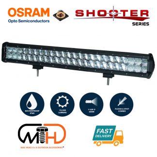23inch Osram LED Light Bar 5D 144w Sopt Flood Combo Beam Work Driving Lamp 4wd