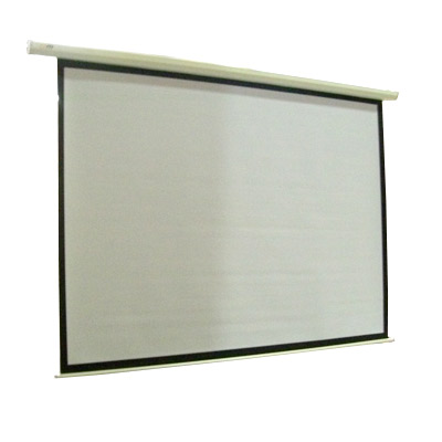 """100"""" Electric Motorised Projector Screen TV +Remote"""